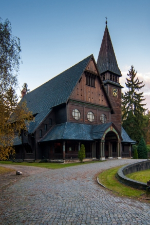scandinavian church #südwestkirchhof copyright andreas reich 2013