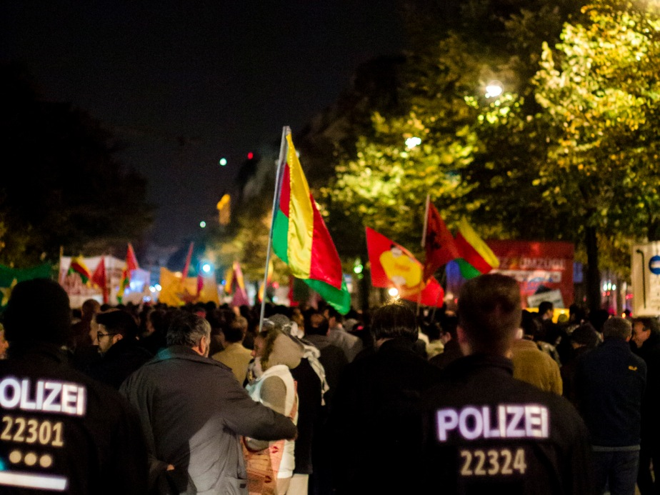 kobane demo berlin