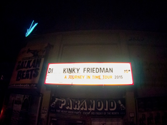 kinky friedman - a journey in time